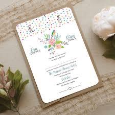 bird wedding invitations bird wedding invitation wedding print