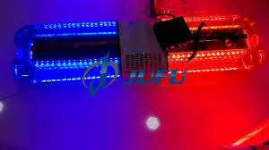Red Led Light Bars by Police Supplies 144w Red Blue Led Police Light Bar Emergency