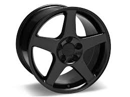 Black Mustang Wheels Mustang 2003 Cobra Style Black Wheel 17x10 5 94 04 All Free