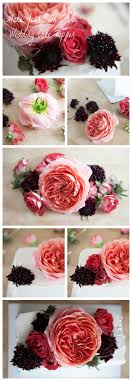 how to your cake topper how to make a floral wedding cake topper rustic wedding chic