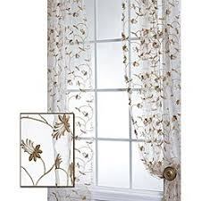 Sheer Off White Curtains 28 Best Ideas For The House Images On Pinterest Leaf Patterns