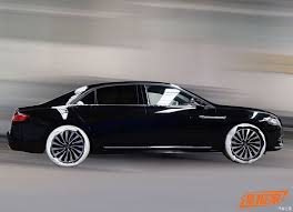 lincoln 2017 car 2017 lincoln continental presidential to debut in china next week