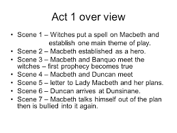 themes of macbeth act 2 scene 1 macbeth act i all shakespeare s plays follow a 5 part structure