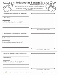 reading comprehension worksheets for first grade education com