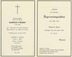 funeral card funeral card of karna fridh funeral card km creative