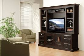 Tv Furniture Design Hall 84 Inch Media Console With Hutch Classic Eco Friendly Wood
