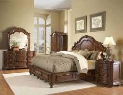 elements international bedroom canton cherry storage bed elements