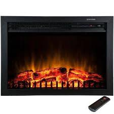 Decor Home Depot Electric Fireplaces by Regal Flame 33 Inch Curved Ventless Heater Electric Fireplace