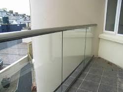 Frameless Glass Handrail Stainless Steel Glass Railing In Chennai Tamil Nadu