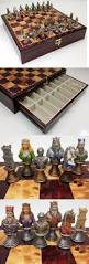 other chess 180348 medieval times crusades busts painted chess