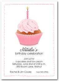 cupcake birthday invitations wblqual com