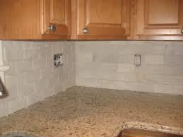 kitchen subway tile backsplash ideas with white cabinets bar