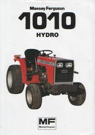massey ferguson tractor 1010 hydro brochure