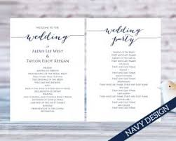 print your own wedding programs wedding program templates wedding templates and printables