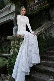 wedding dress with sleeves berta bridal winter 2014 sleeve wedding dresses wedding
