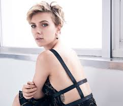 2017 scarlett johansson cosmopolitan short hair 5k wallpaper