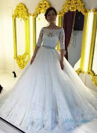 2 wedding dress half sleeve bridal gowns vintage wedding dresses with 1 2 sleeves