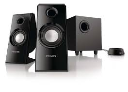 multimedia speakers 2 1 spa4355 37 philips