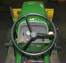 john deere 210 lawn mower item e2555 sold february 20 m