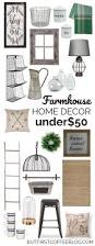 the best farmhouse decor for under 50 but first coffee