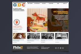 graphic design program philadelphia microsite landers miller design