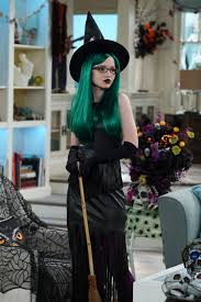 Liv And Maddie California Style by Dove Cameron Rocks A Green Wig For The Halloween Themed U0027liv