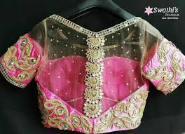s blouse patterns fancy front and back blouse designs to flaunt your
