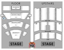 orchestra floor plan tickets u0026 box office fox theater