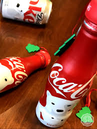 how to make ornaments out of coca cola bottles happily