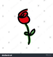 cartoon rose icon image stock vector 505100914 shutterstock