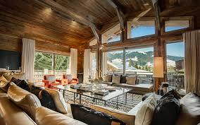 luxury ski chalet chalet des sens megeve france france