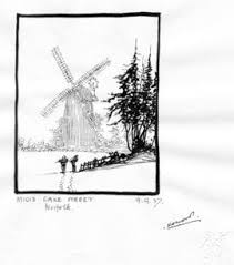 karl wood windmill sketches images u0026amp documents