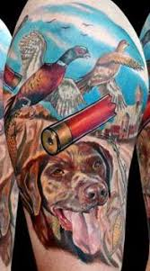 20 great hunting tattoos tattoo me now