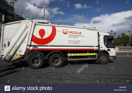 waste management company stock photos waste management company veolia environmental services rubbish lorry dump truck private company dublin republic of ireland stock image