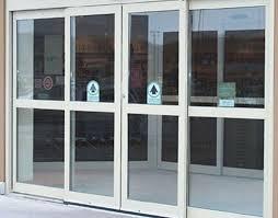 clear glass door exterior design inspirative sliding storefront door with simple