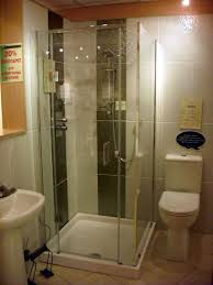 bathroom fetching frameless glass shower stall and wall mounted
