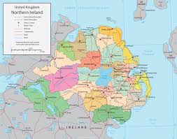 Map Of Northern Europe by Political Map Of Northern Ireland