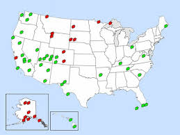 map of us states national parks map of every national park in the us ecoclimax best 25 us