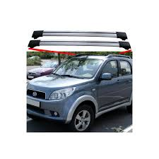 daihatsu terios 2000 daihatsu terios suv 2006 2011 roof rack aero cross bars shark