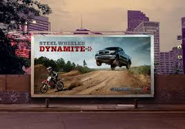 toyota united states toyota outdoor advert by intermark steel wheeled dynamite ads