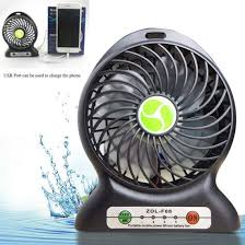 travel fan images China personal outdoor fan small travel fan rechargeable desktop jpg