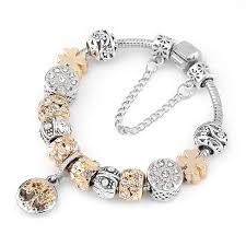 pandora classic bracelet images Pandora classic tree of life charm bracelet quot genuine sterling jpg