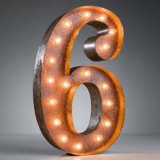 marquee numbers with lights vintage marquee 24 number 6 number wall installation and light works