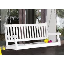 Swing Cushion Replacements by Coral Coast Pleasant Bay Traditional Back Porch Swing With