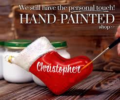 beautiful painted personalized ornaments gifts