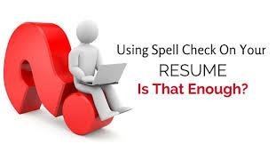 Spell Resume How To Spell Resume On A Resume