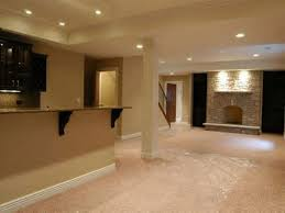 Laminate Floors In Basement Interior Cool Basement Finishing Ideas In Living Room Laminate