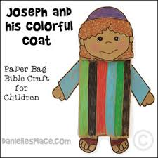 free sunday lesson for children joseph a very colorful story
