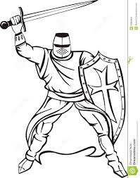 knight clipart midieval pencil and in color knight clipart midieval