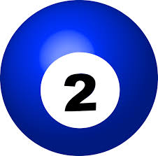 2 free vector graphic pool ball number 2 sphere ball free